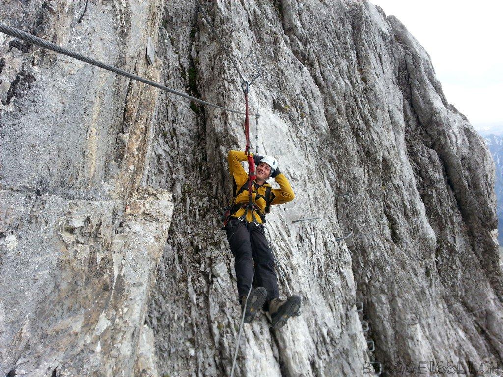 Klettersteig Sulzfluh : Sulzfluh klettersteig u berggeissli