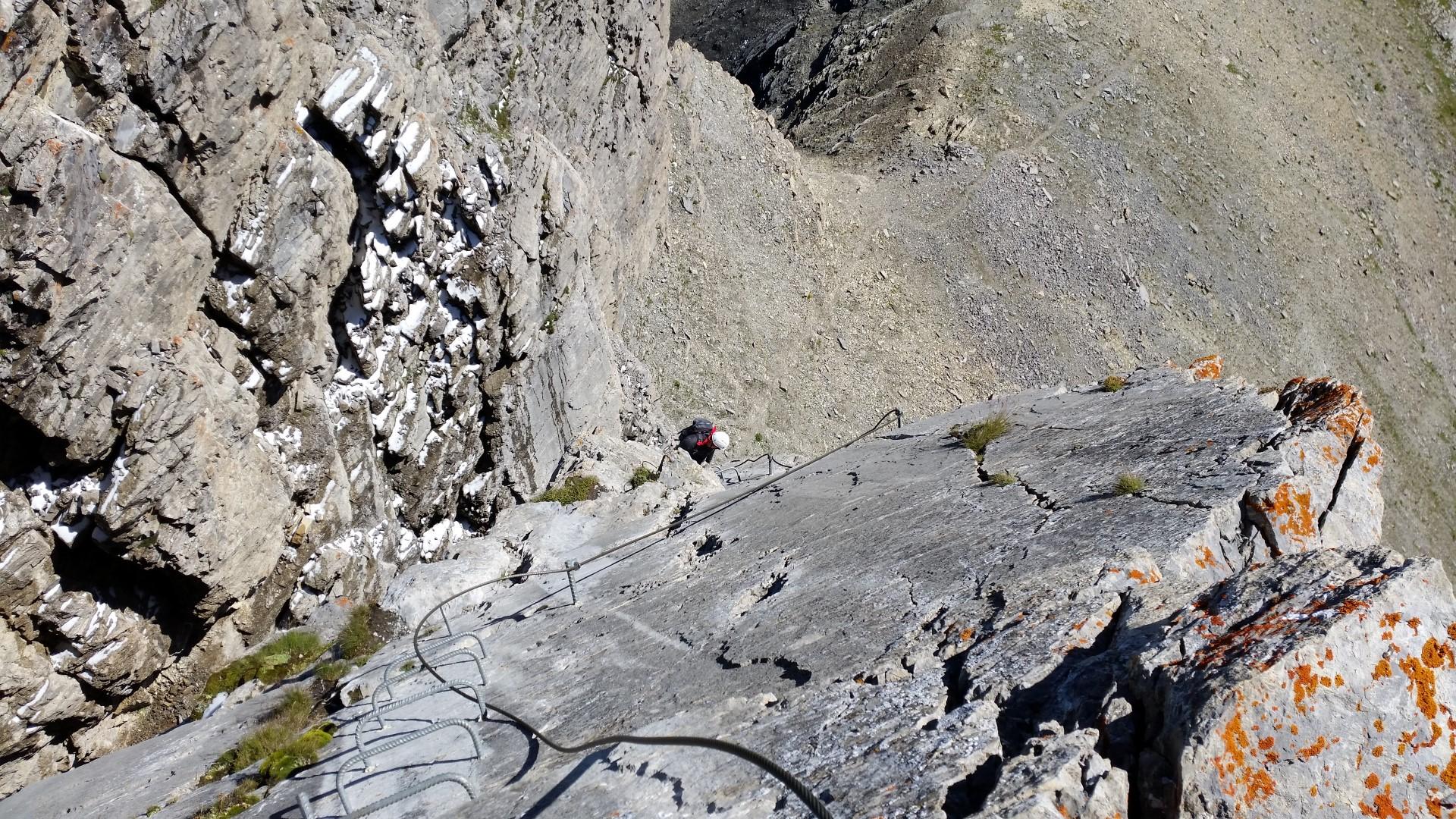 Klettersteig Graustock : Klettersteig graustock u berggeissli