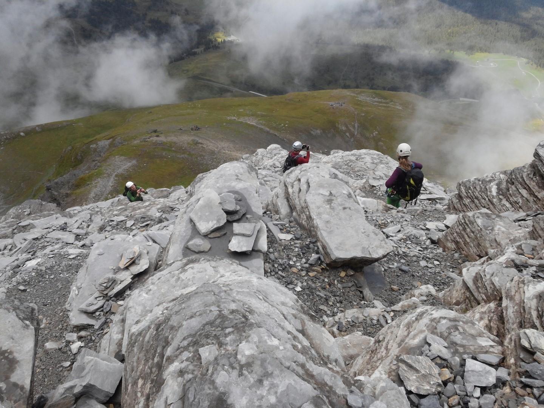 Klettersteig Ostegghütte : Grindelwald klettersteige u berggeissli